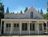 General Store built during the Gold Rush