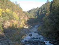 Autumn day on the South Yuba River