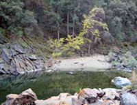 Swimming hole on the South Yuba River